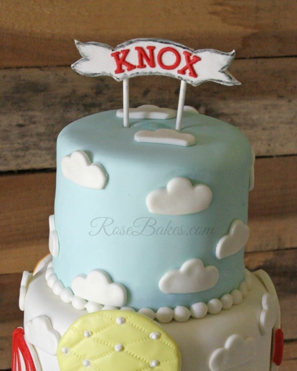 Clouds on Cake