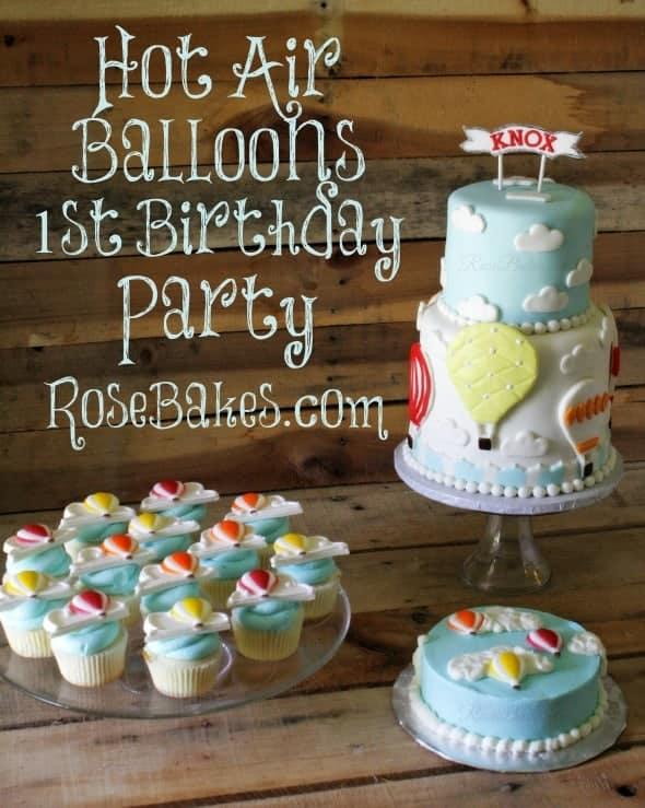 Hot Air Balloons Party