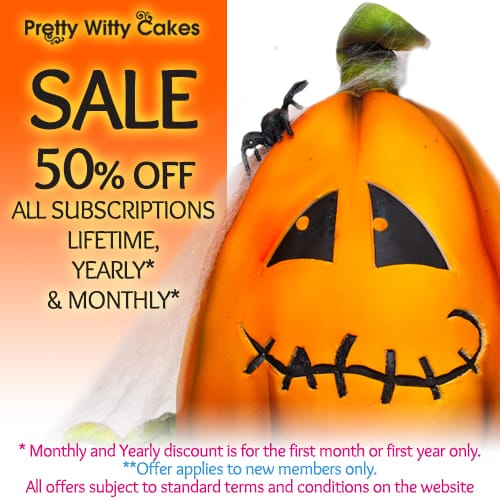 Pretty Witty Cakes Fall