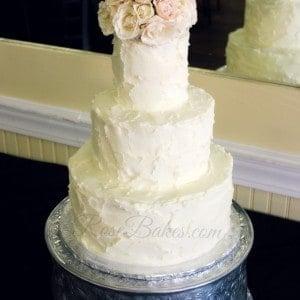 Simple Rustic Buttercream Cake