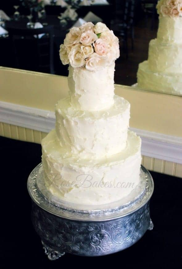 simple wedding cake designs buttercream simple rustic buttercream wedding cake bakes 20053