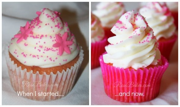 Cupcakes Then and Now