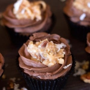 German Chocolate Cupcakes Recipe (2)