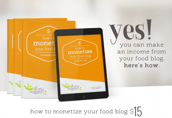 How to Monotize Your Food Blog