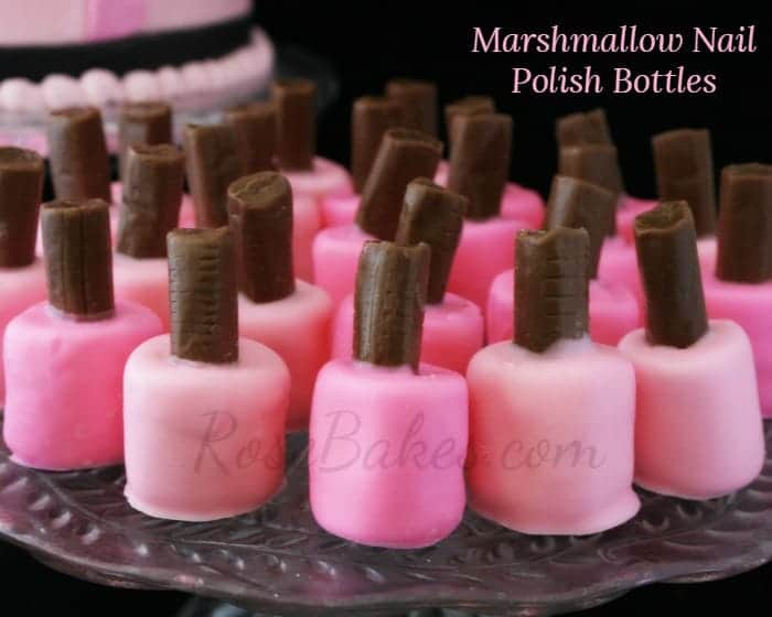 How To Make Nail Polish Bottle Cake Pops