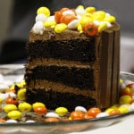 Slice of Fall Kit Kat Candy Cake