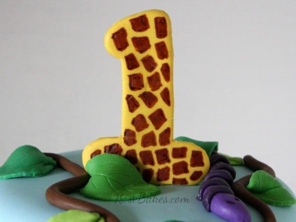1 Giraffe Cake Topper