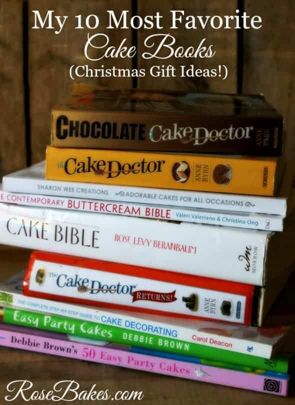 10 Most Favorite Cake Books