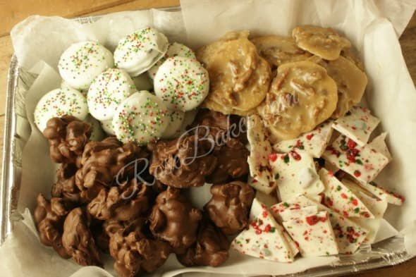 Christmas Candy Tray 2