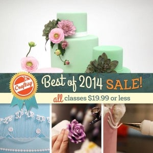 Click to see the Craftsy Best of 2014 Sale