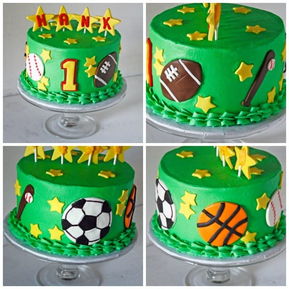 My Awesome Cousin and an All Sports Cake for Kids Rose Bakes