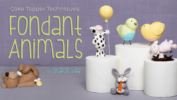 Cake Topper Techniques Fondant Animals