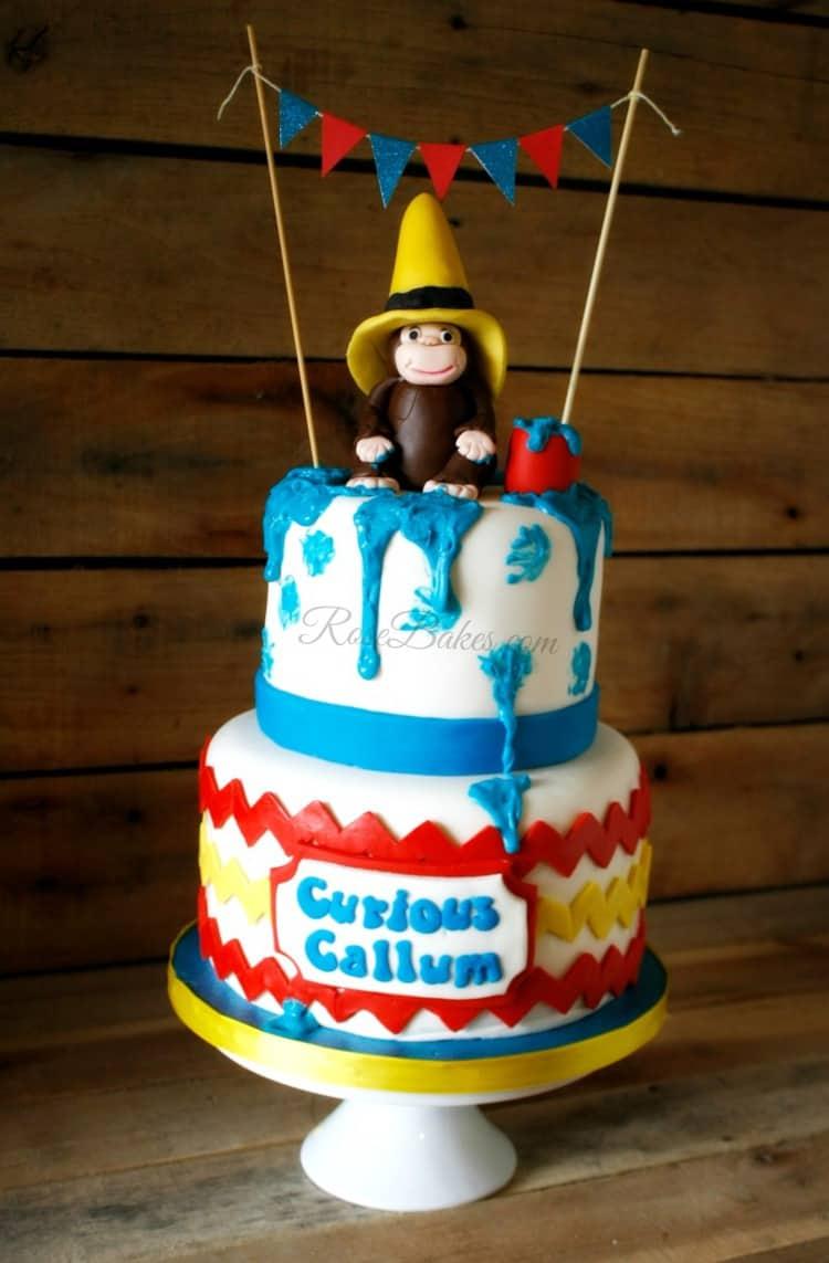 Curious George Bake Cakes