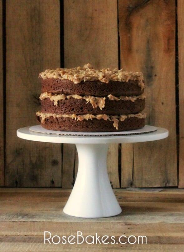 German Chocolate Layers Cake Recipe