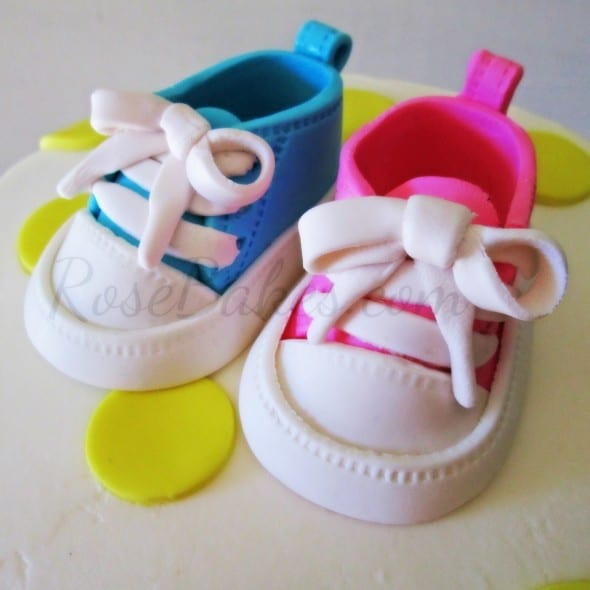 Gumpaste Baby Converse Shoes PM
