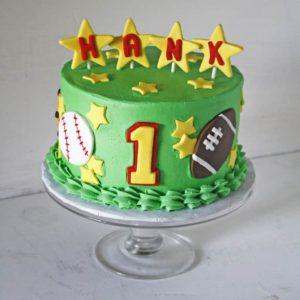 Hank Sports Cake