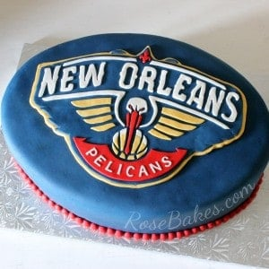 New Orleans Pelicans Cake