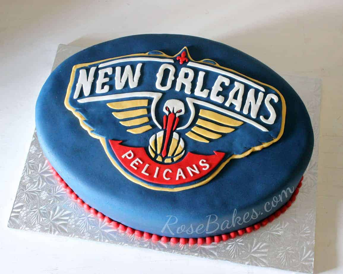 New Orleans Pelicans Grooms Cake