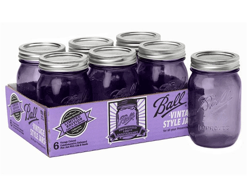 Click HERE to Order Purple Pint Ball Jars!