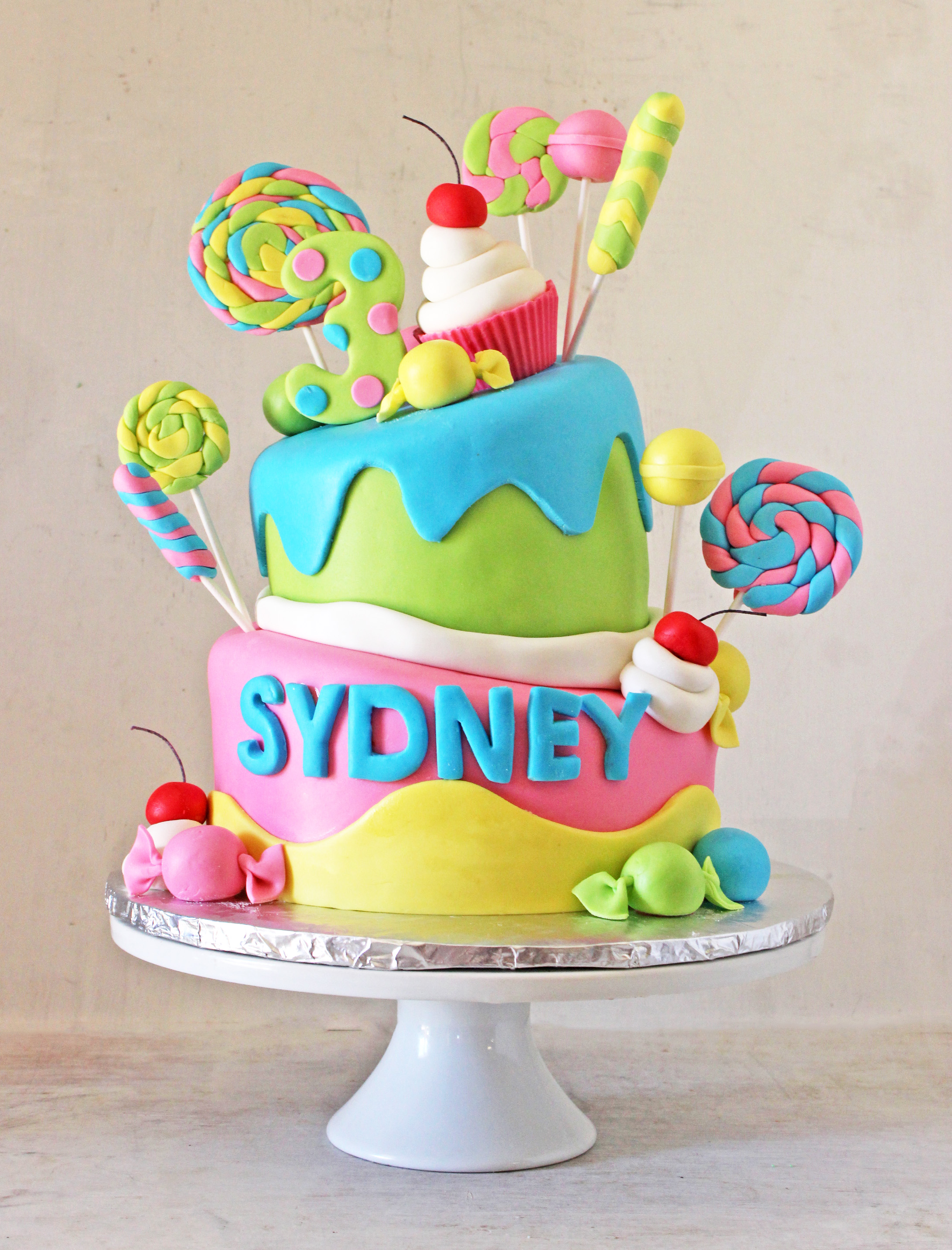 Topsy-Turvy Candy Cake nw