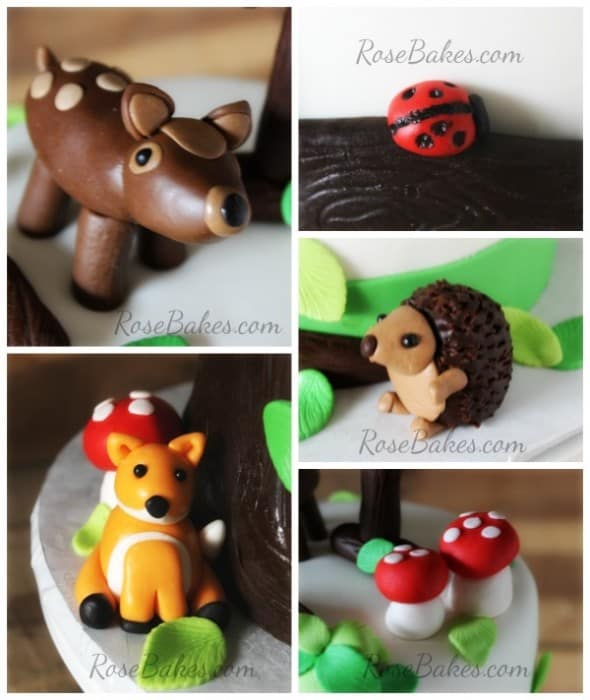 how to make fondant figures animals