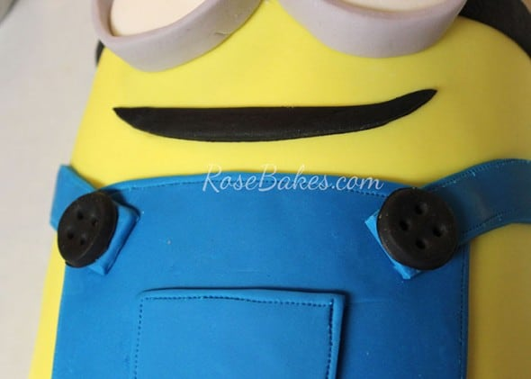 Minion Cake Tutorial 25