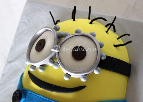 Minion Cake Tutorial 28