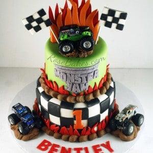 Monster Jam Truck Cake