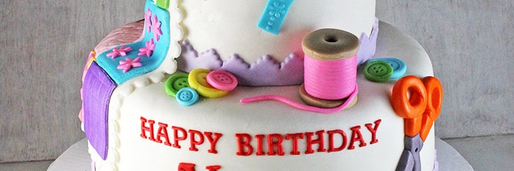 70th Birthday Sewing & Quilting Cake - Rose Bakes : quilting on a cake - Adamdwight.com