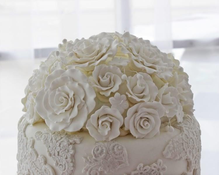 Roses Cake Topper