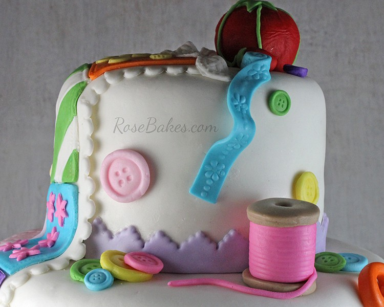 Sewing Quilting Cake Ribbon Lace