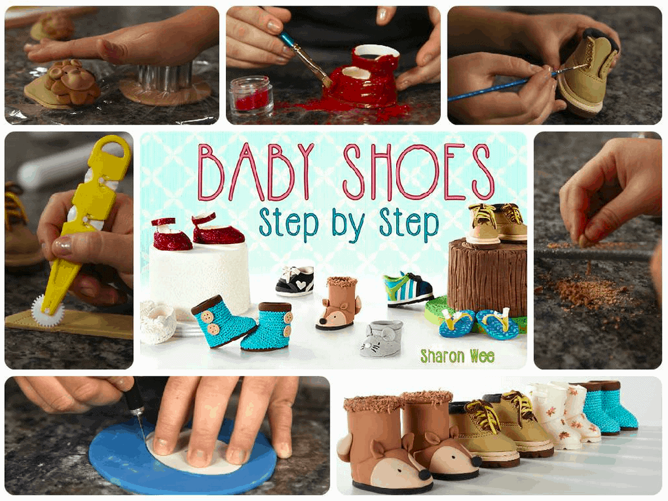 Baby Shoes Craftsy Class