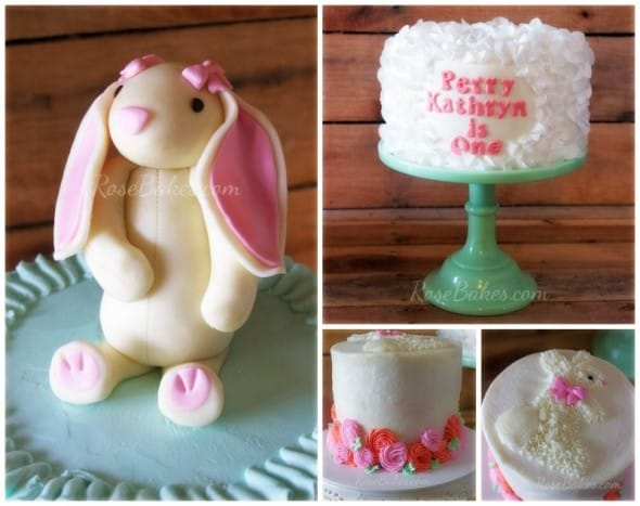Some Bunny is One Cakes