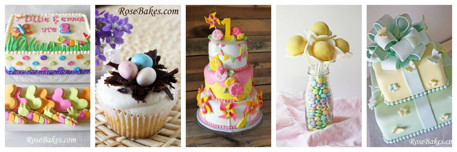 Spring Cakes Cookies Cupcakes Cake Pops