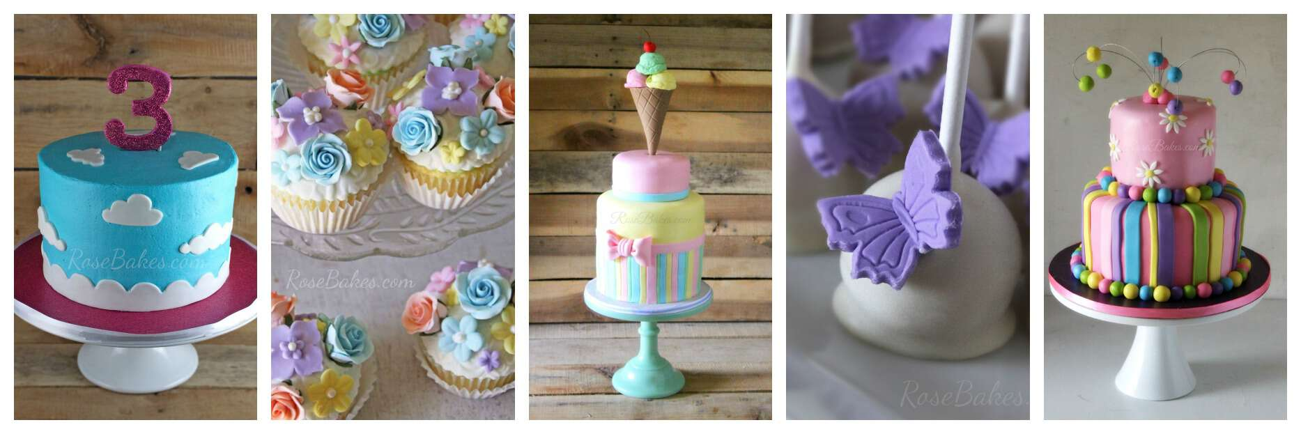 Spring Cakes Cupcakes Cake Pops