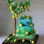 Italian Garden Lemon Tree Cake WM