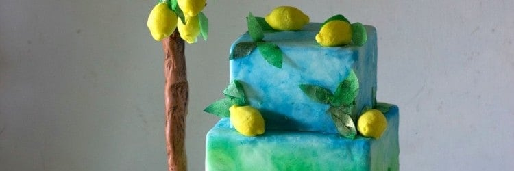 Italian Garden Lemon Tree Cake WM