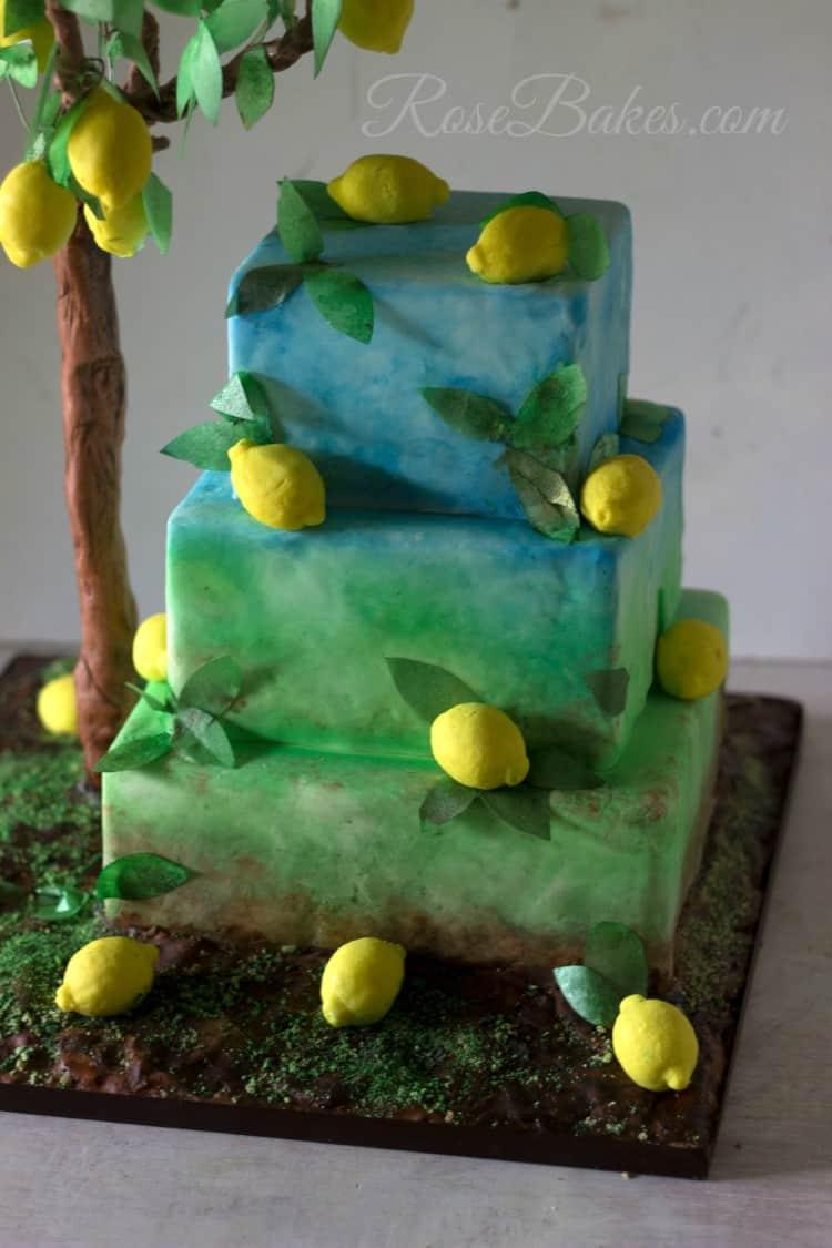 Lemon Cake WM