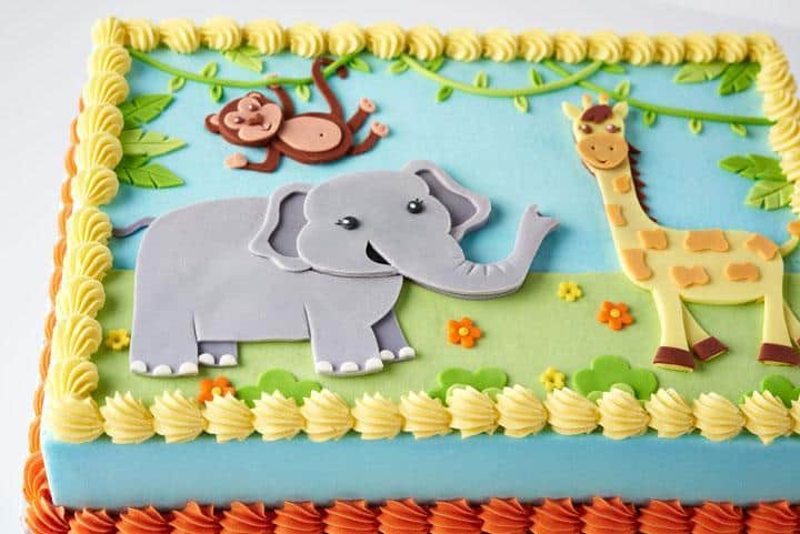 Easy And Simple Animal Cake Designs