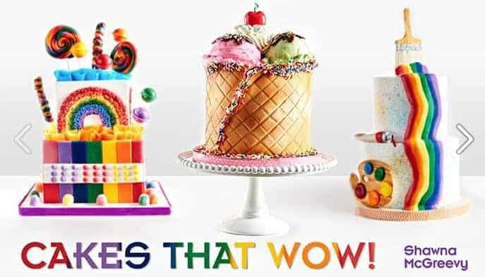 Cakes that Wow  Only $14.99!