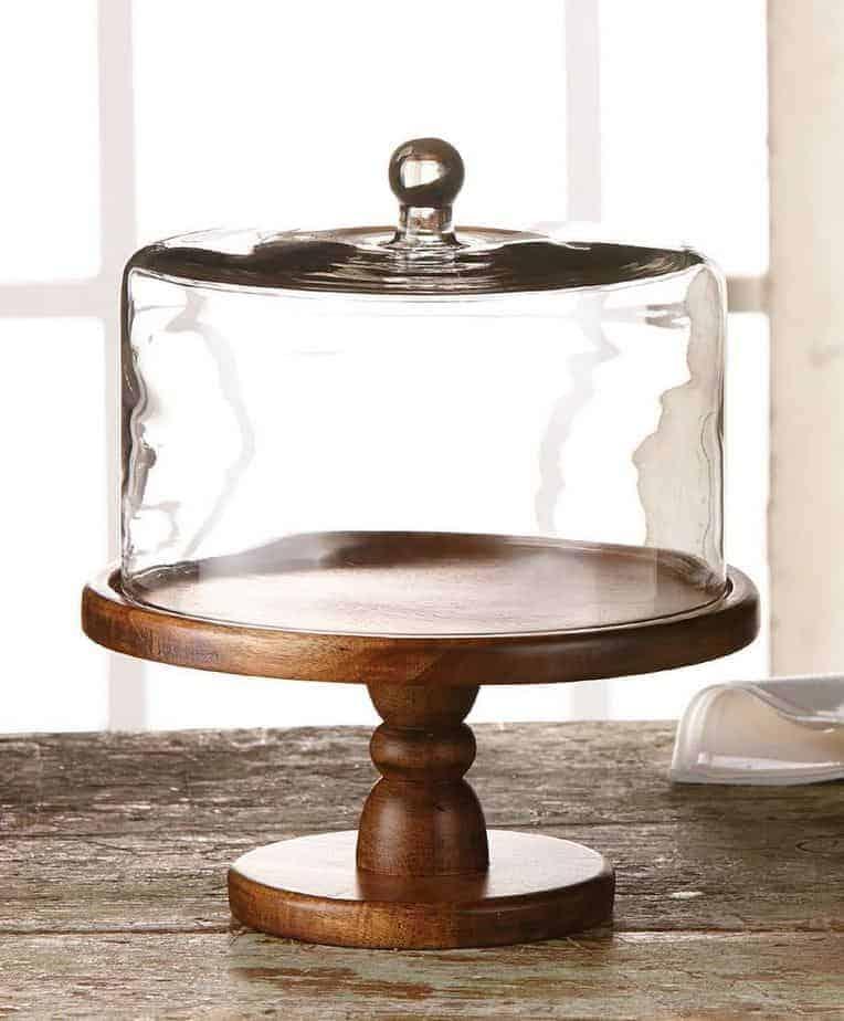 How To Make A Pedestal Cake Plate