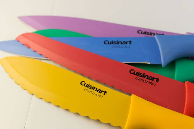 Cuisinart Knives Close