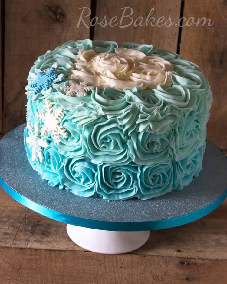 Frozen Movie Cake Designs