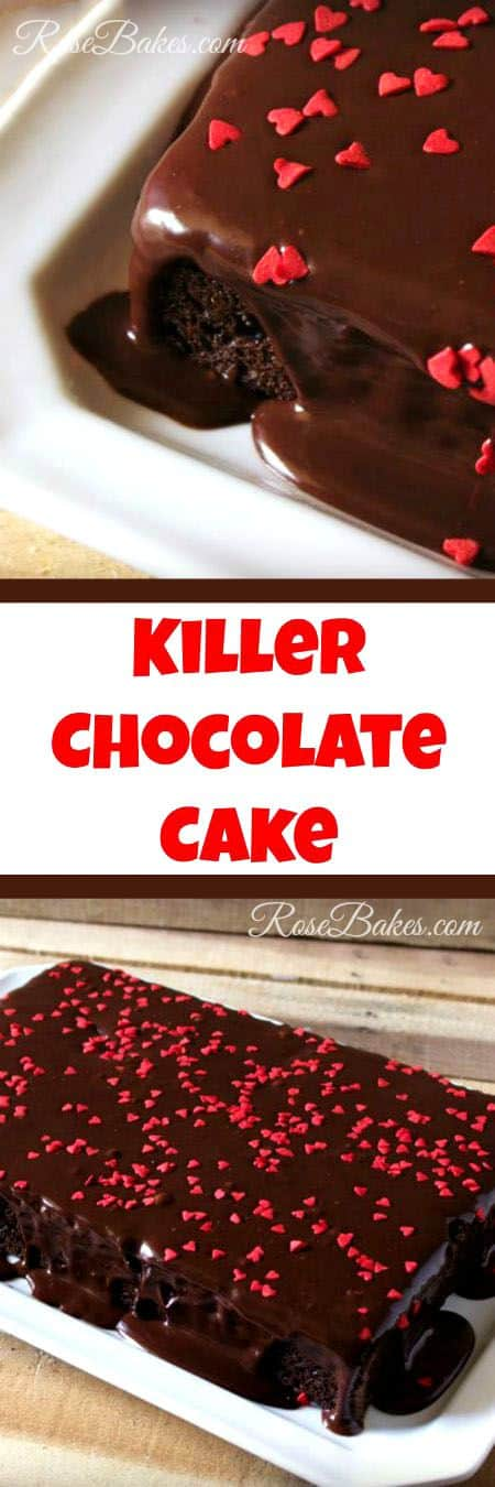 Killer Chocolate Cake