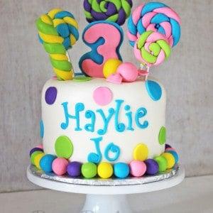Lollipops-&-Candy-Cake