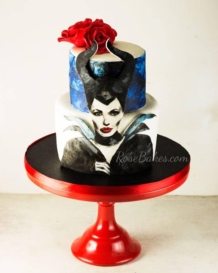 Maleficient-Cake