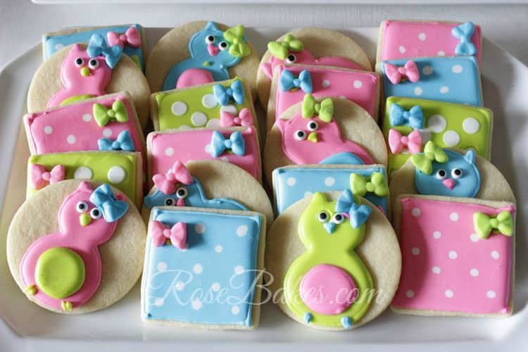 Owl-and-Square-Polka-Dots-Cookies