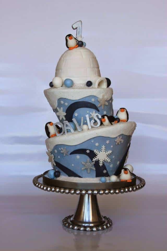 Penguins Cake