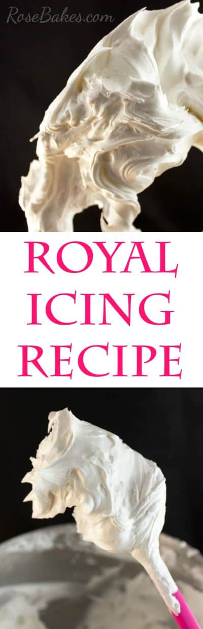 Royal Icing Recipe from Rose Bakes