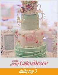 Shabby Chic Cake Daily Top 3